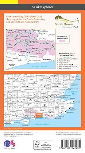 Arundel & Pulborough 1 : 25 000 (OS Explorer Map)