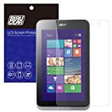 BIRUGEAR Premium HD Crystal Clear LCD Screen Protector for Acer Iconia W4-820 - 8.1 Inch Windows 8.1 Tablet