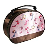 Shoe Lover Round Top Train Case