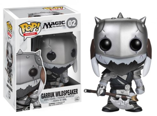 Funko Pop! Games: Magic The Gathering - Garruk Wildspeaker Vinyl Figure