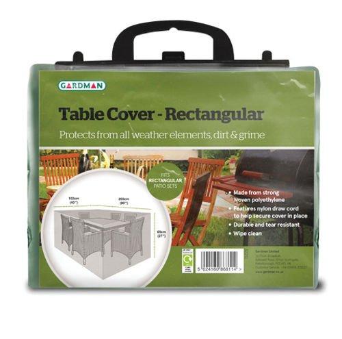 Gardman, Telo di copertura impermeabile per set di tavolo e sedie da esterni