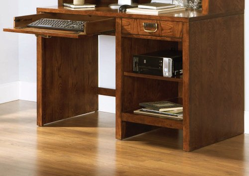 Buy Low Price Comfortable Computer Desk by Broyhill – Cinnamon Finish (6735-381) (B005INGX5A)