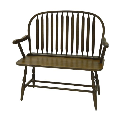 Carolina Cottage American Westminster Bench, Oak