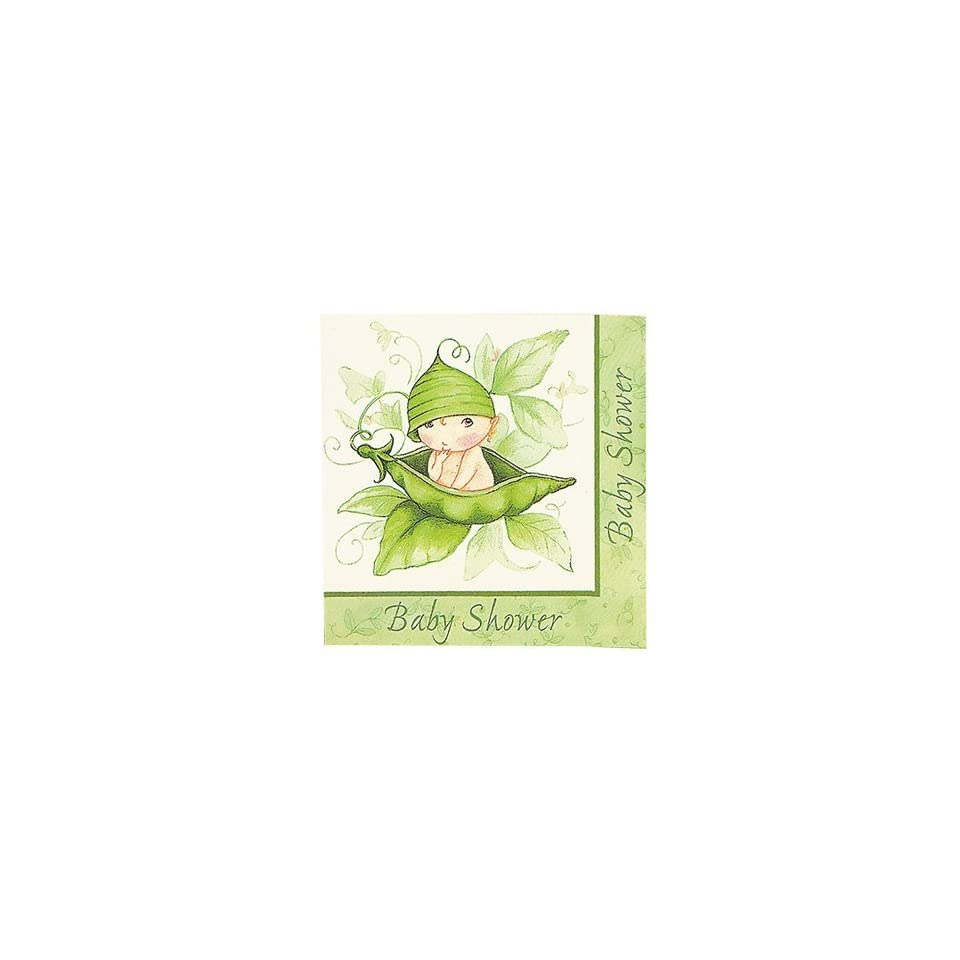 Sweet Pea Baby Shower Lunch Napkins