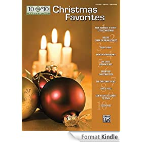 10 For 10 Sheet Music: Christmas Favorites Piano/Vocal/Chords