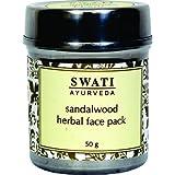 Swati Ayurveda Sandalwood Herbal Face Pack (Paraben Free) 50 Gm