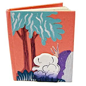 Mr. Ellie Pooh Small Notebook, Pink (SNB-Pink)