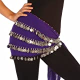 Wholesale Lots of 10 Chiffon Belly Dance Hip Scarf (Model BC)