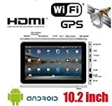 "10"" Touchscreen Android 2.2 Tablet PC 512 MB 4 GB HD support WiFi / USB 3G  ...."