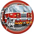 Fire Trucks Birthday Party Supply Pack Bundle Serves 16