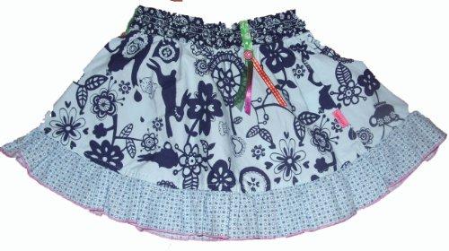Girls Cakewalk Allover Printed Frill Skirt