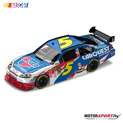 Mark Martin No. 5 Carquest 2010 Sprint Cup Diecast Collectible Car by The Hamilton Collection
