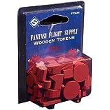 Fantasy Flight Supply: Wood Tokens: Red