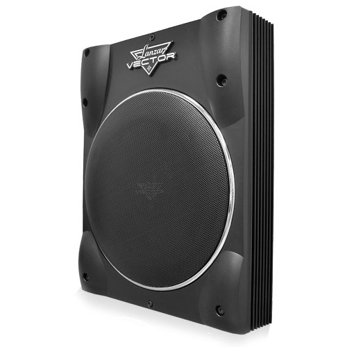 Lanzar Vctbs2.10 Vector 10-Inch Super-Slim Active Amplified Subwoofer System