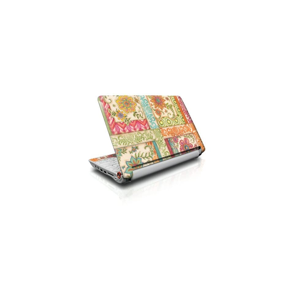 Ikat Floral Design Skin Cover Decal Sticker for the Acer Aspire ONE 11.6 AO751H Netbook Laptop