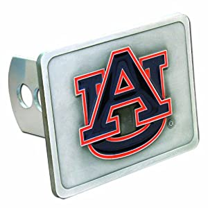 Click here to buy Auburn Tigers College Trailer Hitch Cover by Siskiyou Automotive.