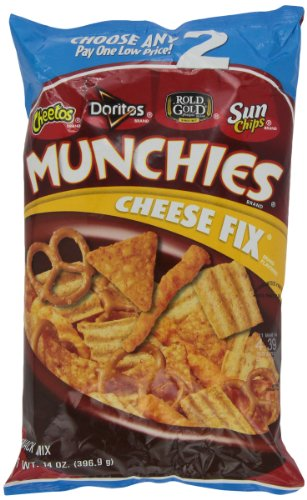 Munchies Snack Mix, Cheese Fix, 14 Ounce (028400002813)