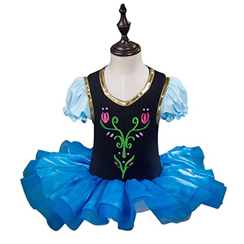 iikids Girls Fancy Dress Party Outfit Dance Skirt Princess Halloween Costume