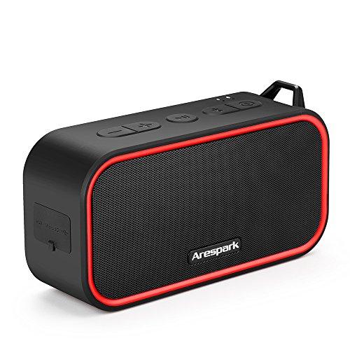 Bluetooth4.0 スピーカー Arespark 防水/耐衝撃/防塵/内蔵マイク搭載/通話可能/ ポータブル ステレオ スピーカー