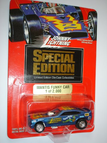 Johnny Lightning 1994 Special Edition - 1 of 2,000 Limited Edition - Blue Mantis Funny Car