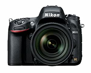 Nikon D600 24.3 MP CMOS FX-Format Digital SLR Camera with 24-85mm f/3.5-4.5G ED VR AF-S Nikkor Lens (OLD MODEL)
