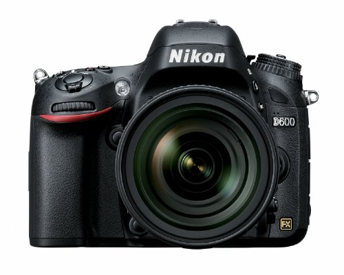 Nikon D600 24.3 MP CMOS FX-Format Digital SLR Camera with 24-85mm f/3.5-4.5G ED VR AF-S Nikkor Lens
