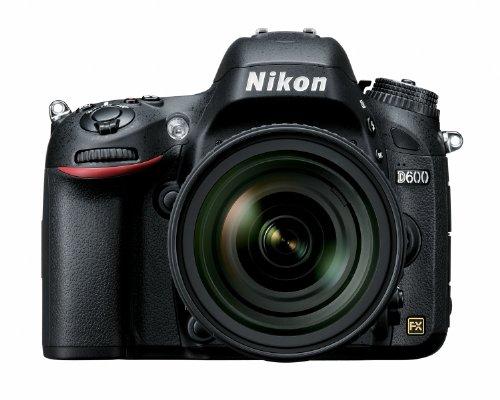 Nikon D600 24.3 MP CMOS FX-Format Digital SLR Camera with 24-85mm f/3.5-4.5G ED VR AF-S Nikkor Lens