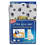 Drymate Scented Litter Box Mat for Pets, Grey