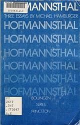 Hofmannsthal: Three Essays
