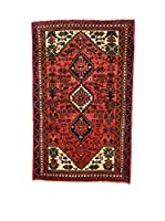 L'Eden del Tappeto Alfombra Hamadan Rojo 74 x 115 cm