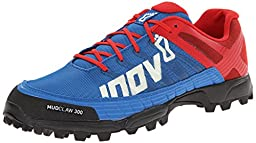Inov-8 Mudclaw 300 Trail Running Shoe,Blue/Red,9 M US