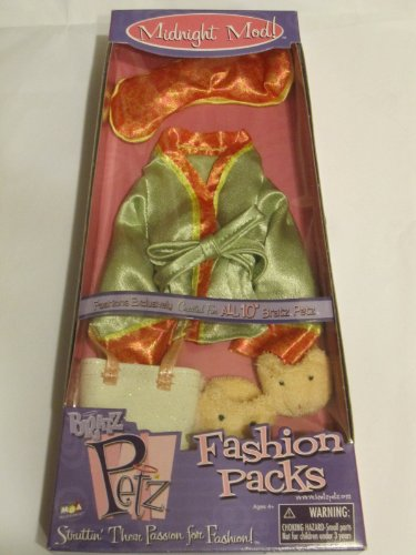 Bratz Petz Midnight Mod Fashion Packs