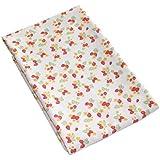 Kadambaby Double Layered Soft Baby Blanket -Strawberry & Pink Polkas