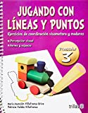 img - for Jugando con l neas y puntos / Playing with lines and dots: Ejercicios De Coordinaci n Visomotora Y Madurez / Motor Coordination Exercises and Maturity (Spanish Edition) book / textbook / text book
