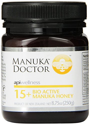 Manuka Doctor Bio Active Honey, 15 Plus, 8.75 Ounce
