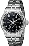 Ball Men's NT1050D-SJ-BKF Trainmaster Fahrenheit Analog Display Swiss Automatic Silver Watch