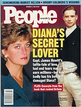 People Magazine October 17 1994 Princess Diana 39 S Secret