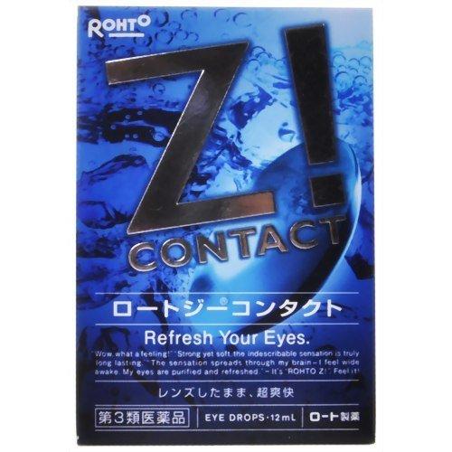 Японские капли для глаз Rohto Z 12ml