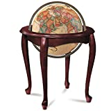 Replogle Globes Illuminated Queen Anne Globe, Antique Ocean, 16-Inch Diameter