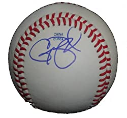 Casey Blake Autographed ROLB Baseball, Los Angeles Dodgers, Cleveland Indians, Proof Photo