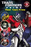 img - for Transformers Prime: Meet Team Prime (Passport to Reading Level 2) book / textbook / text book