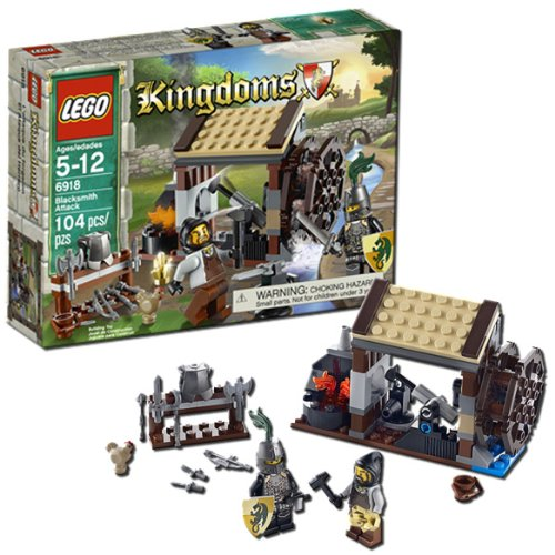 LEGO Kingdoms Blacksmith Attack 6918 Amazon.com