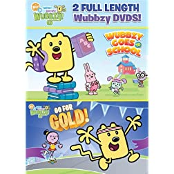 Wow! Wow! Wubbzy!: Back to School (Two-Pack)
