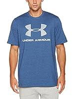 Under Armour Camiseta Manga Corta Cc Sportstyle Logo (Azul)