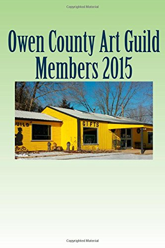 Owen County Art Guild Membership Book 2015