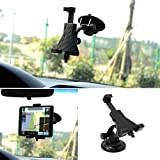 Car Mount, GULAKI Universal Windshield Dashboard Car Tablet Holder Mount For IPad Mini 2 3 PAD GPS Tablet PC (...