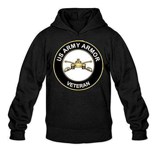 Men's Armor Crew MOS 19 Kilo 19K Veteran Hoodie Sweatshirt XX-Large B...