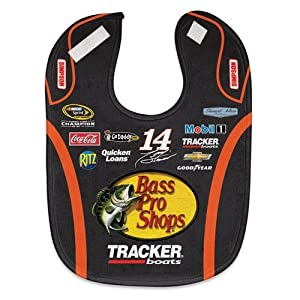 Tony Stewart Official NASCAR Infant One Size Baby Bib by McArthur by McArthur