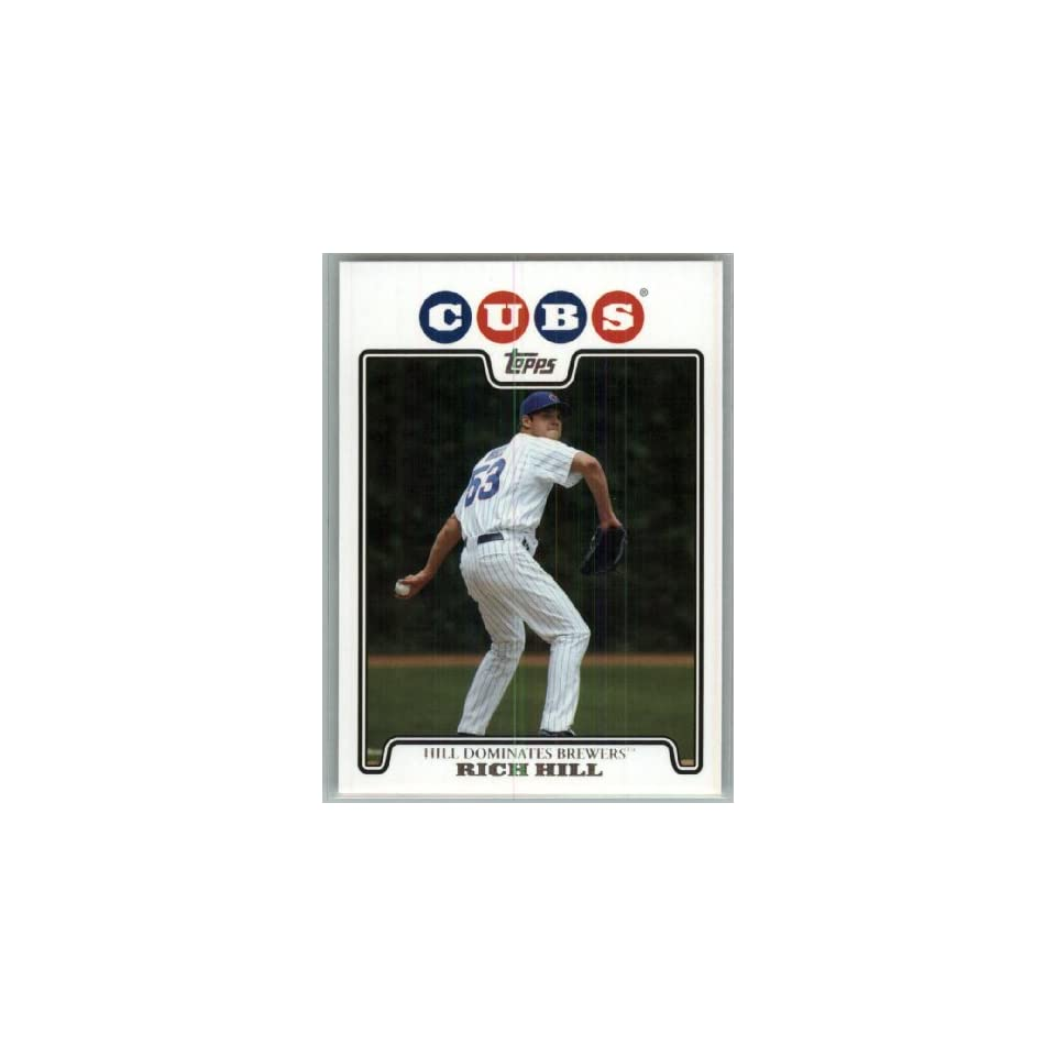 2008 Topps Chicago Cubs LIMITED EDITION Team Edition Gift Set # 28