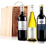 Sendagift by Virgin Wines Classic Mixed Wine Gift Trio In Wooden Gift Box